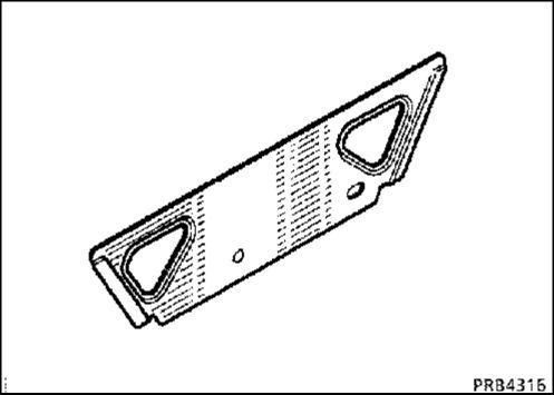 6.  Усилитель порога кузова