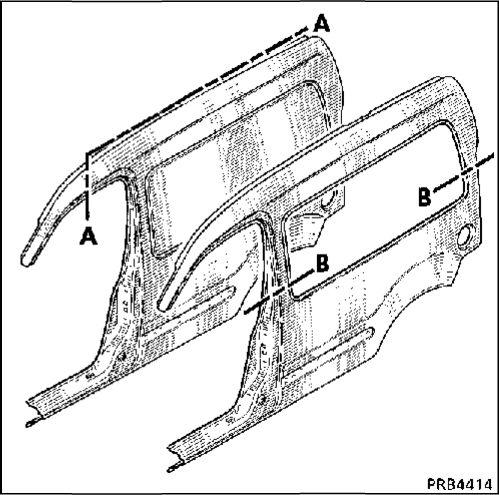 2.  Боковая панель кузова