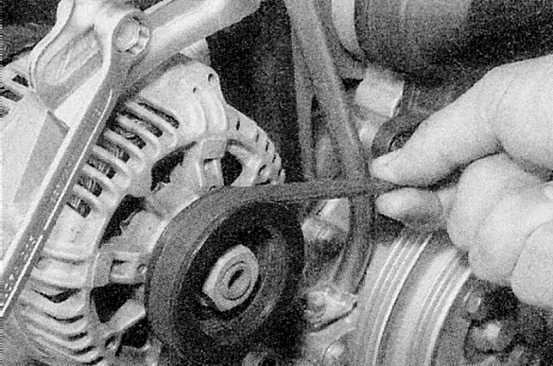 Видео замены ремня генератора рено меган