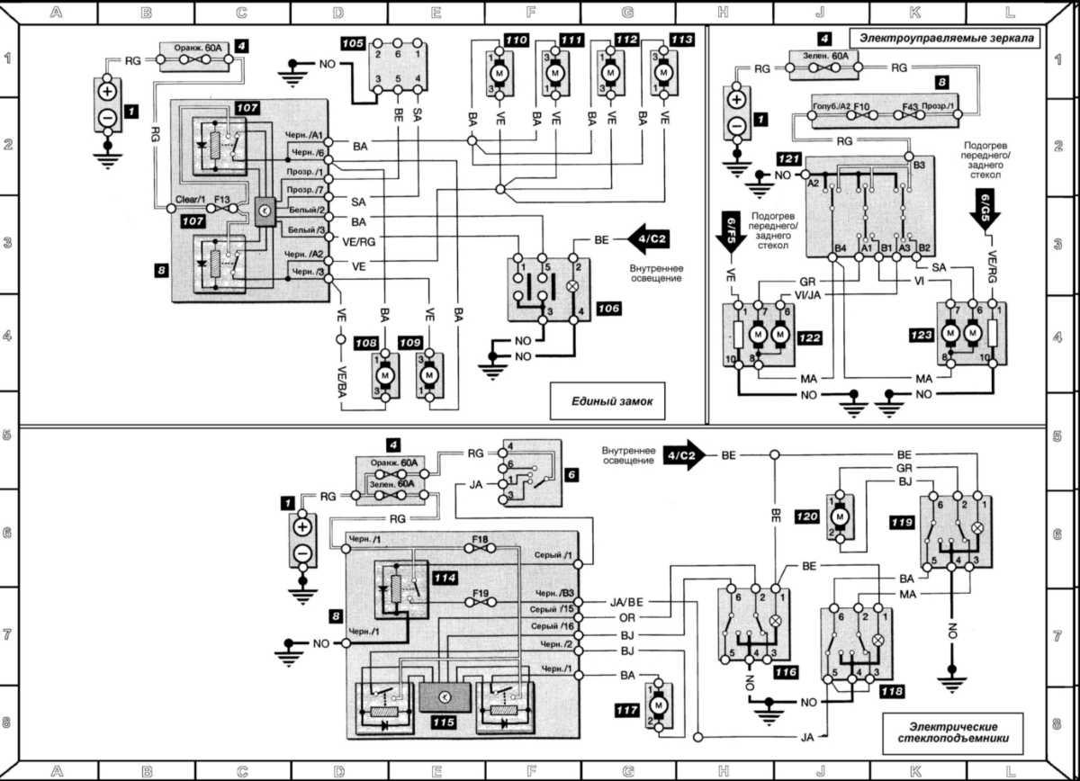Схема и ремонт рено