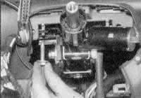 11.15 Снятие, осмотр и установка рулевой колонки Renault Megane