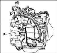 2.16 Проверка уровня жидкости автоматической трансмиссии