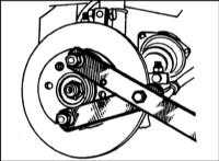 9.1 Снятие и установка приводного вала