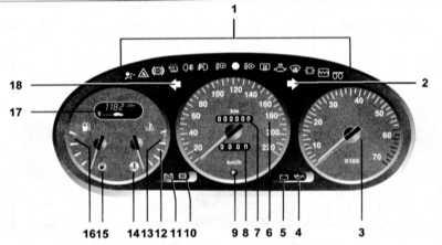 1.16 Приборная панель Renault Megane