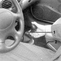 1.19 Рычаг переключения передач РКПП Renault Megane