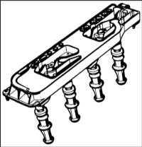 6.2.2 Снятие, проверка и установка катушек зажигания Renault Megane