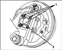 10.19 Снятие и установка компонентов системы ABS Renault Megane