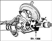 11.21 Снятие и установка поперечной рулевой тяги Renault Megane