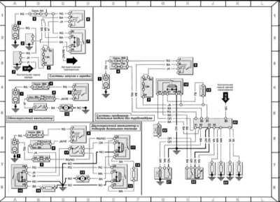 14.2 Система запуска и заряда, вентилятор охлаждения двигателя, отопитель