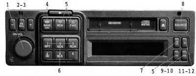 2.8 Аудиосистема 9000 (дополнительное оборудование)