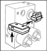7.6 Антипробуксовочная система (TCS) - описание и замена компонентов