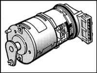 7.6 Антипробуксовочная система (TCS) - описание и замена компонентов Saab 9000