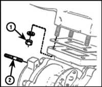 7.18 Снятие и установка на место турбокомпрессора