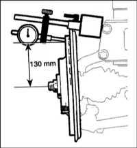 15.7 Осмотр, снятие и установка на место переднего тормозного диска