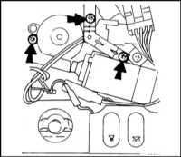 17.21 Снятие и установка на место  панели сдвижного  люка крыши