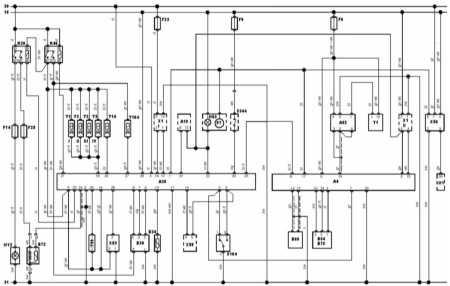 19.16 управления и разъем блока управления Bosch Jetronic 2.4 на моделях 92 - 94 г