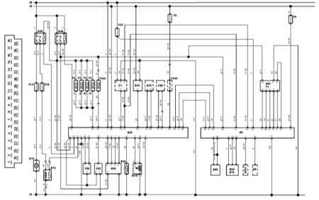 19.17 управления и разъем блока управления Bosch Jetronic 2.4.2 Saab 9000
