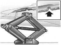 1.6 Поддомкрачивание/вывешивание и аварийная транспортировка автомобиля