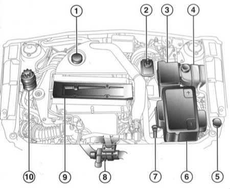 2.0 Настройки и текущее обслуживание автомобиля