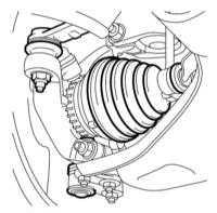 2.13 Проверка состояния защитных чехлов ШРУСов приводных валов