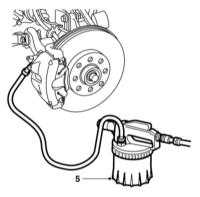 2.10 Замена тормозной жидкости, прокачка тормозной системы