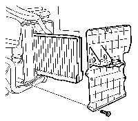 2.17 Проверка и замена салонного фильтра отопителя и К/В