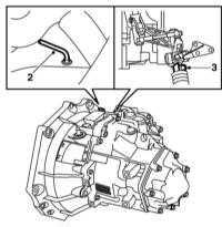 7.3 Снятие и установка кожуха рычага переключения передач
