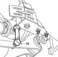 7.7 Снятие и установка РКПП дизельных двигателей V6