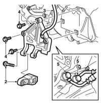 8.6 Снятие и установка э/м клапанов АТ, их корпуса и его крышки