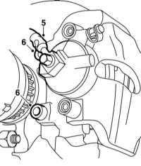 10.5 Снятие и установка тормозных суппортов
