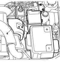 10.8 Снятие и установка резервуара тормозной жидкости и ГТЦ