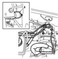 10.11 Снятие и установка компонентов вспомогательных систем (ABS/TC/ESP)