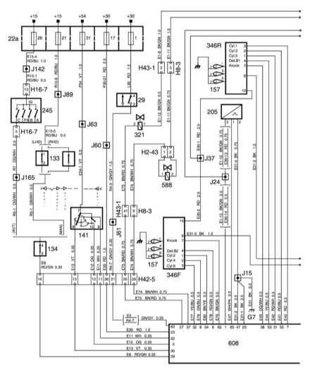 15.2 Система управления бензиновым двигателем V6