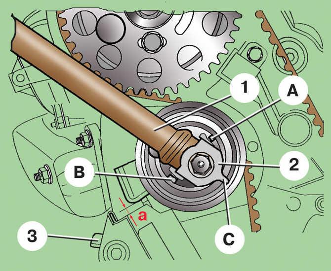 Как заменить цепь грм на шкоде фабия