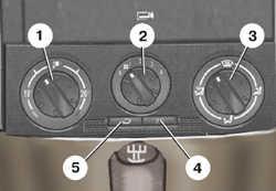 1.33 Вентиляция и отопление салона