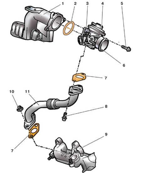 6.6 Система рециркуляции отработавших газов (двигатели 1,9   л, 74 кВт)