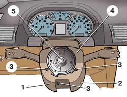 8.2 Снятие и установка возвратного и контактного колец в сборе
