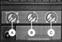 2.3  Оборудование панели управления и дефлекторов воздуховодов, выбор