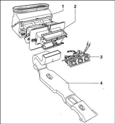 5.8 Система отопления/вентиляции салона - общая информация