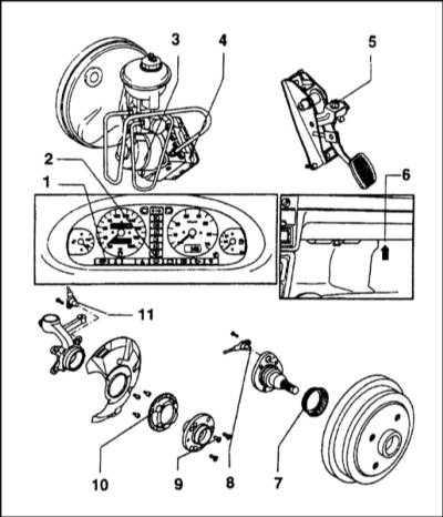 11.20 Система антиблокировки тормозов (ABS)-общая информация