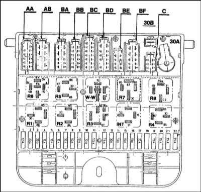 14.0 Бортовое электрооборудование Skoda Felicia