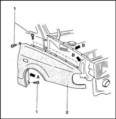 13.5 Ремонт серьезно поврежденных кузовных панелей