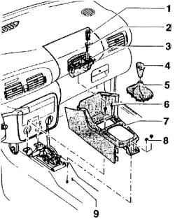 1.2.26 Рычаг регулировки наклона рулевого колеса