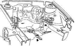 3.1 Монтаж агрегата привода в кузове