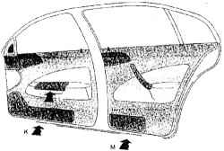 1.2.4 Переключатель стеклоочистителя и омывателя ветрового стекла