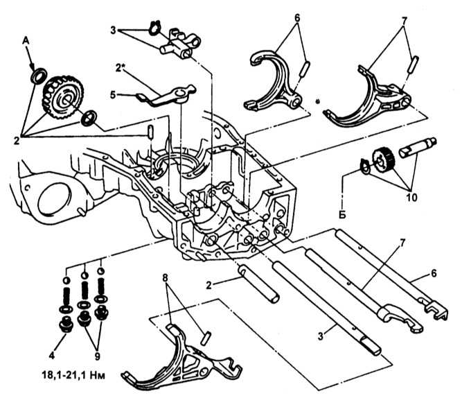 Схема заднего редуктора субару