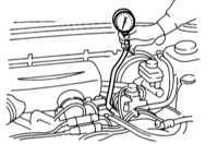 4.5 Диагностика состояния двигателя с применением вакуумметра