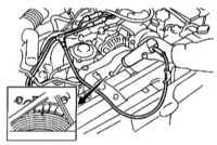 7.8 Проверка и регулировка установки угла опережения зажигания