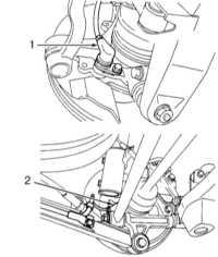 11.3 Снятие и установка основных компонентов ABS Subaru Forester