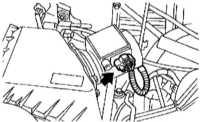 6.13 Снятие и установка датчика измерения массы воздуха (MAF)